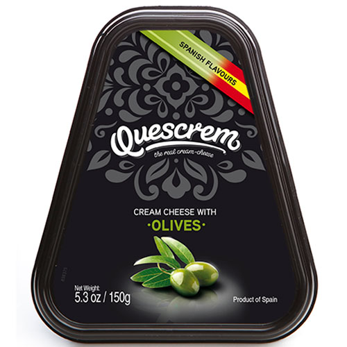 QUESCREM with olives 150g